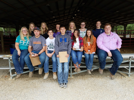 Shelbyville FFA Competes At Section 19 Horse Judging