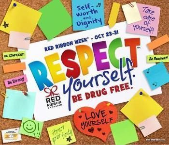 Main Street & K Red Ribbon Week