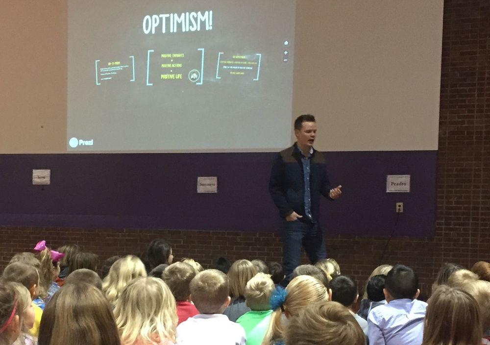 "OPTIMISM: ""The Power of Positive Thinking"""