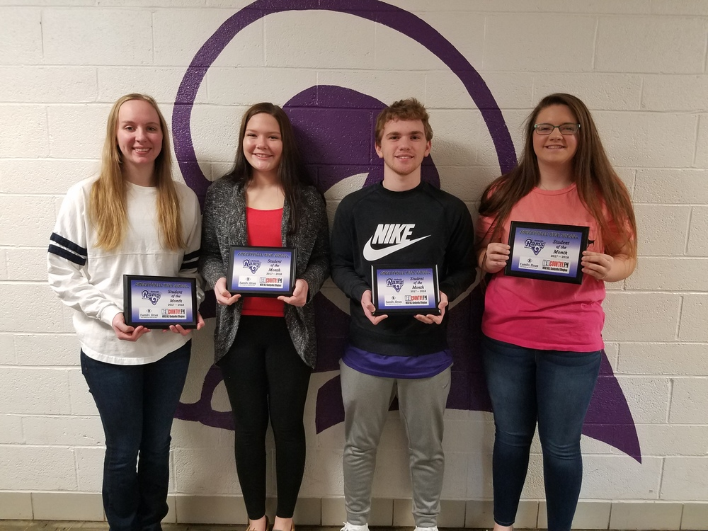 SHS March Students of the Month