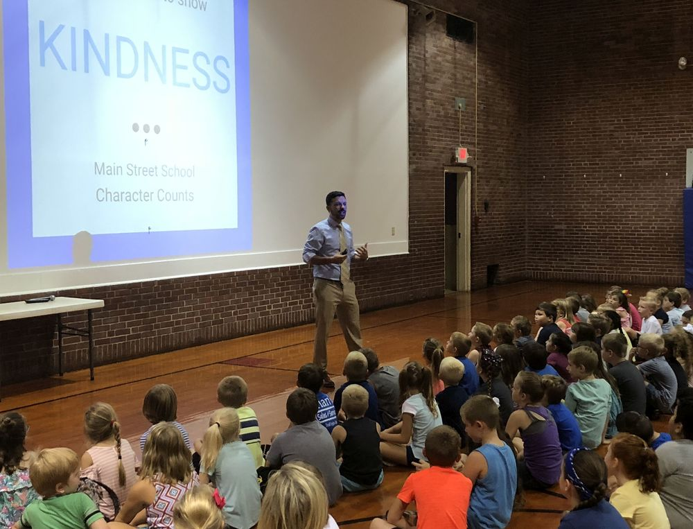 Moulton Principal Endorses KINDNESS @ Main Street School