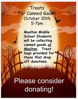 Trick or Treat for Canned Goods