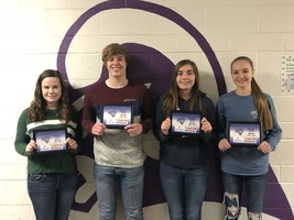SHS Students of the Month