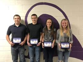 SHS January Students of the Month