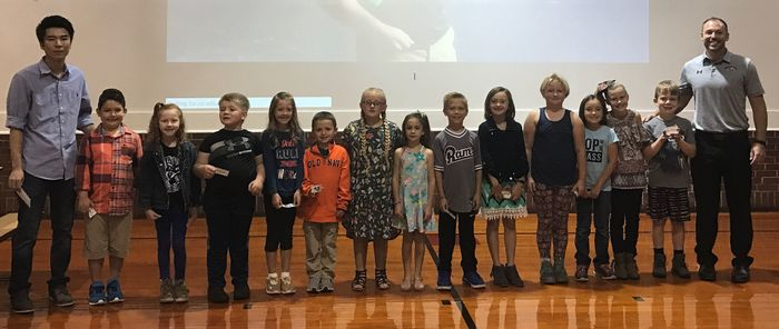 Kindness - September 2018 Students