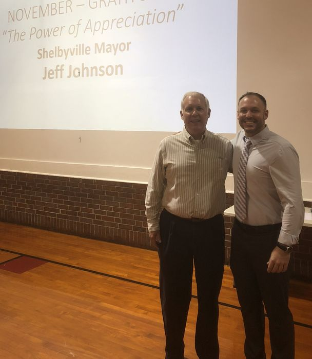 Shelbyville Mayor, Jeff Johnson