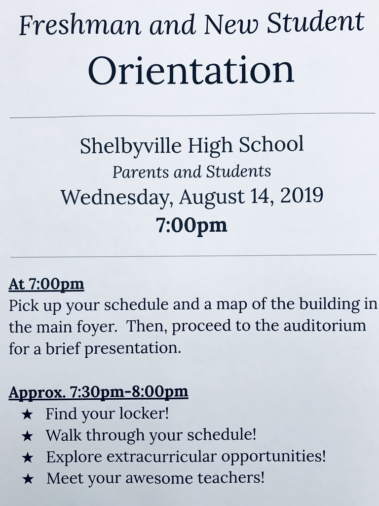 Freshman and New Student Orientation