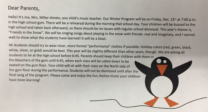"Main Street Winter Concert: ""Friends in the Snow"""