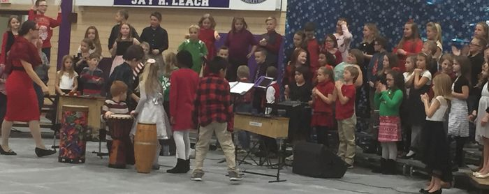 Main Street Winter Concert 2017 - 3rd grade
