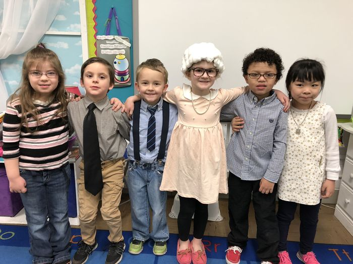 Mrs. Jenni Storm - Kindergarten (100th day of School)