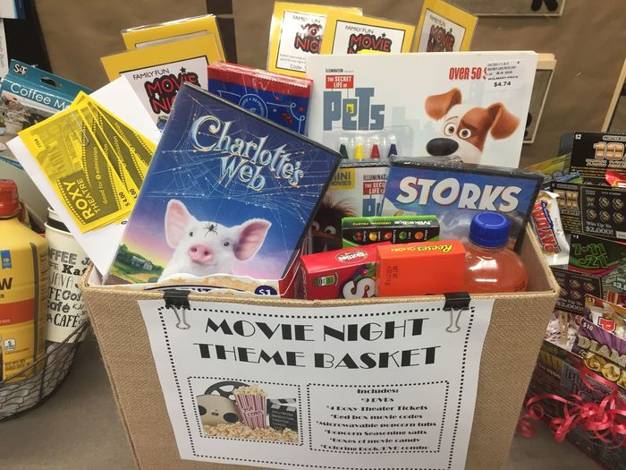 PTO Movie Night Basket