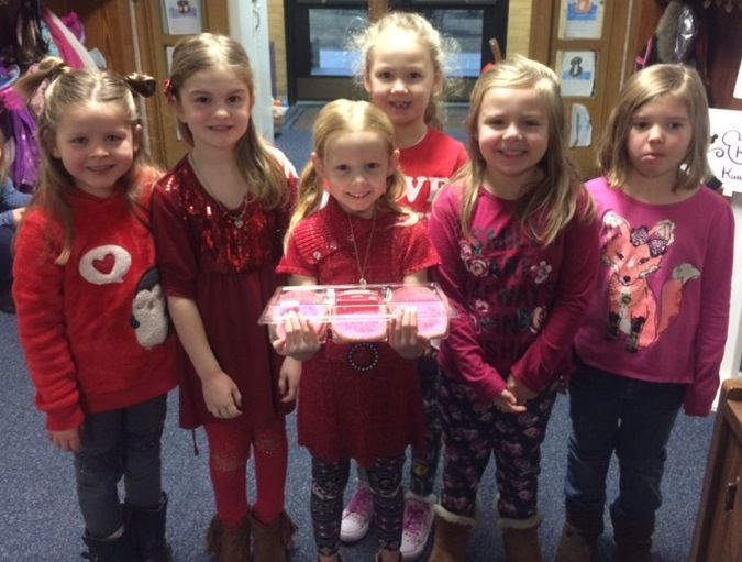 Valentines' Day @ Kindergarten Center