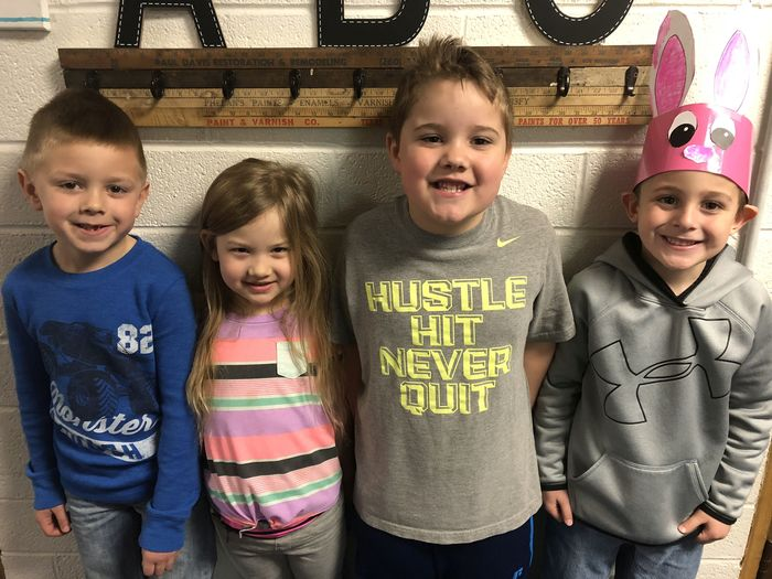 Kindergarten GRIT Students